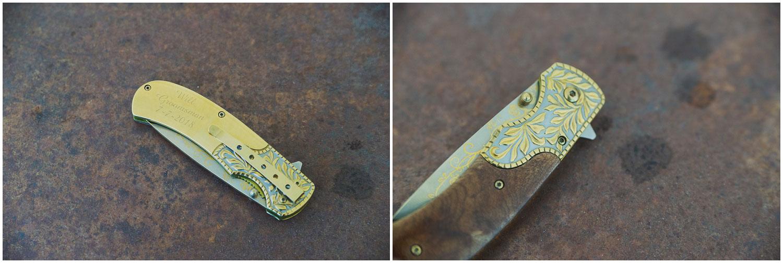 custom pocket knife engraved for groomsmen gift