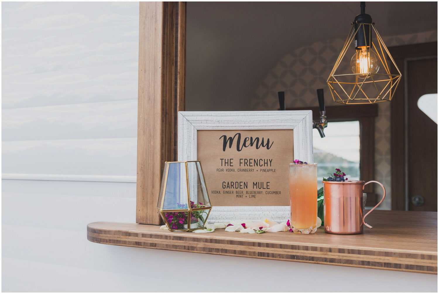 signature cocktail inspiration garden mule and the frenchy by swig rig
